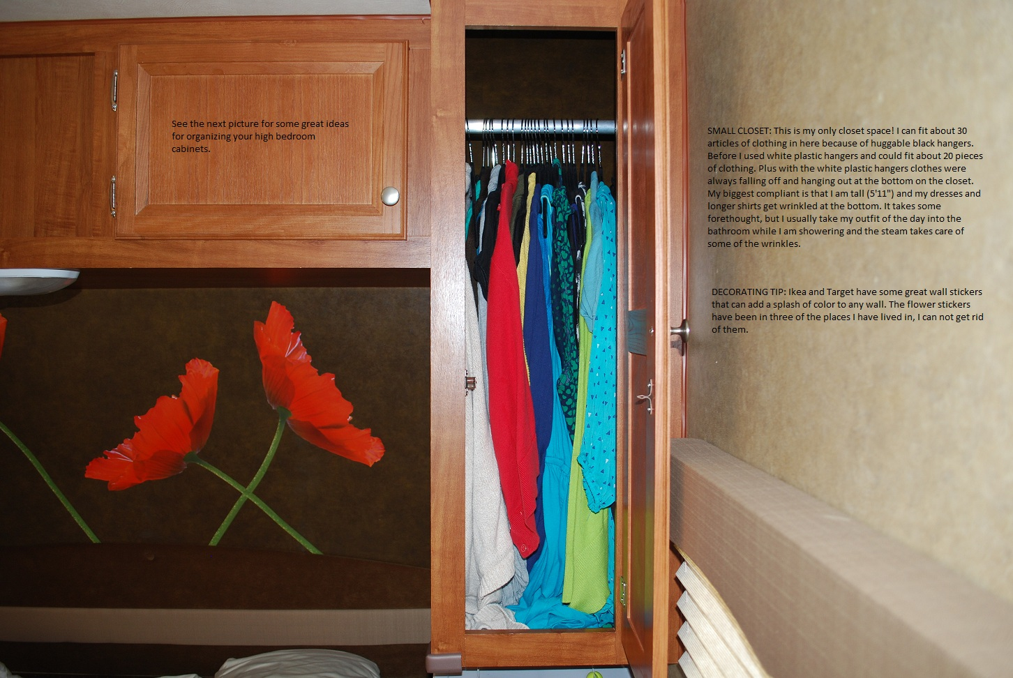 Home Decorating Styles List Rv Bedroom Organizing Tips Road Map To Nomad