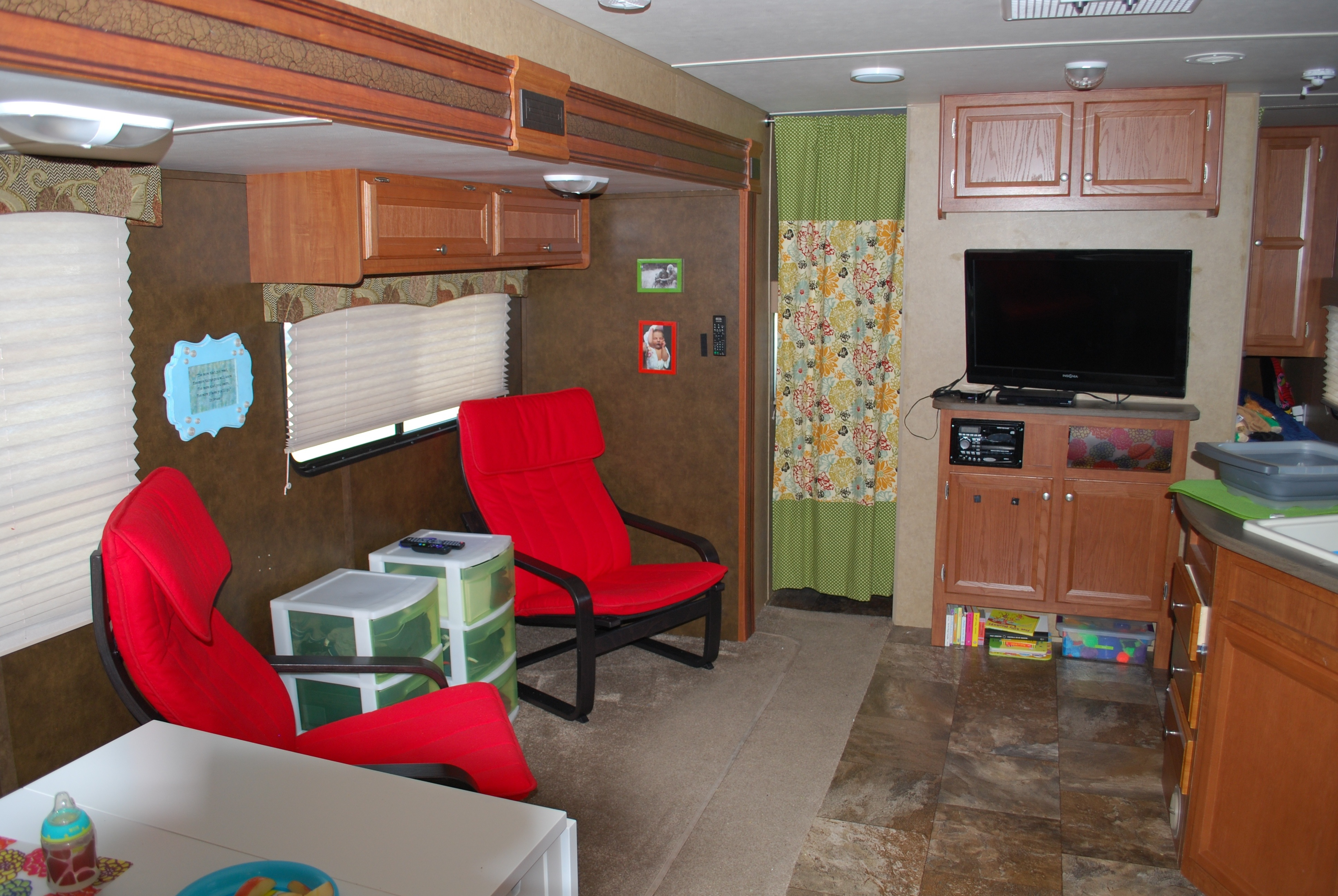 Modified Rv Living Space And Bedroom For Under 500 Road