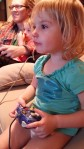 Playing Gamecube